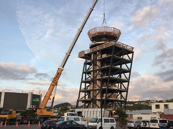 Top placed on new Airways Wellington Control Tower