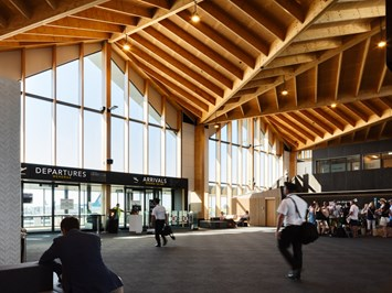 Nelson Airport Terminal Wins at the NZIA National Awards